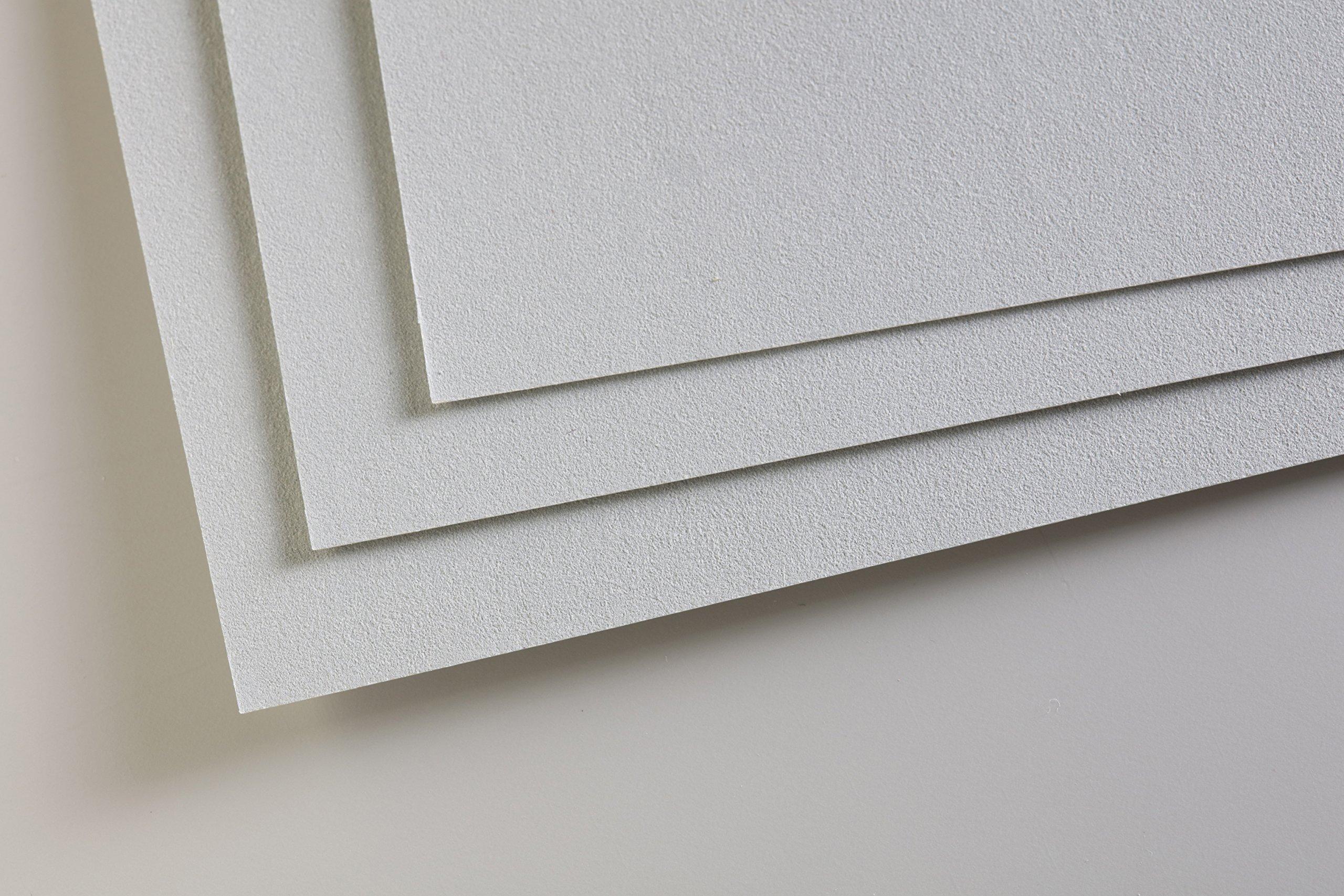 19-1//2 x 25-1//2 Inch Sheet Light Blue Pastelmat Card for Pastel