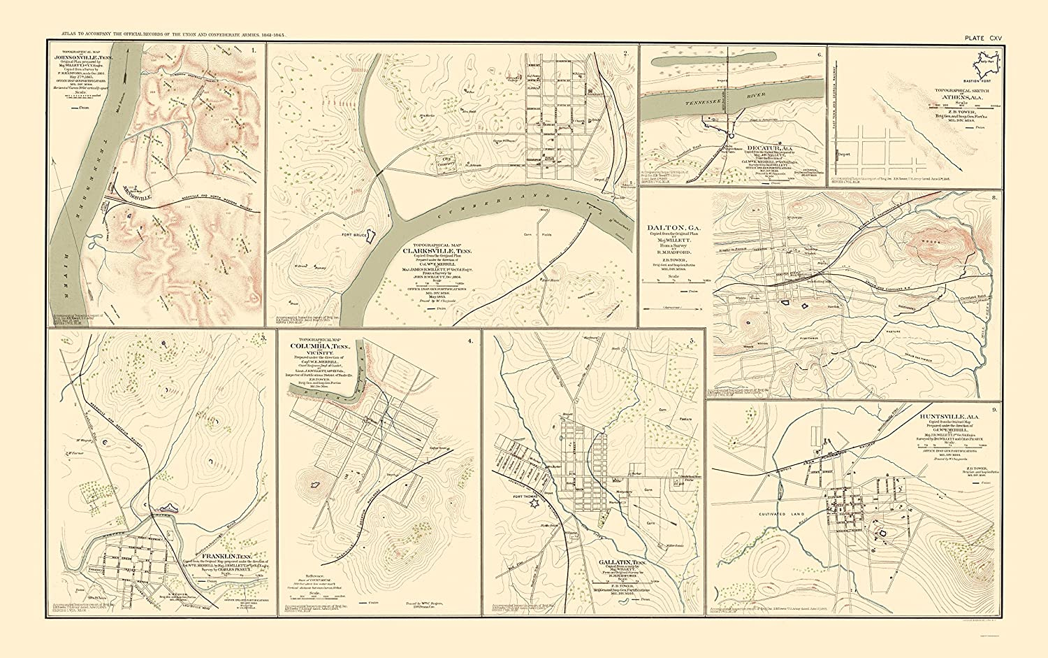 Amazon.com: Civil War Map - Tennessee, Alabama, Georgia ... on map of france with cities, map rivers in alabama, map of cities vermont, map of cities near dallas, map of ashville alabama, large map of alabama, map of jefferson county, alabama, detailed map of alabama, map of beaches of alabama, map of helena alabama, map of cities puerto rico, map of pennsylvania with cities, map of decatur, alabama, alabama city alabama, map of cities around atlanta, map showing alabama counties, map of cities around phoenix, map counties in alabama, map of cities of virginia, map of cities new york,
