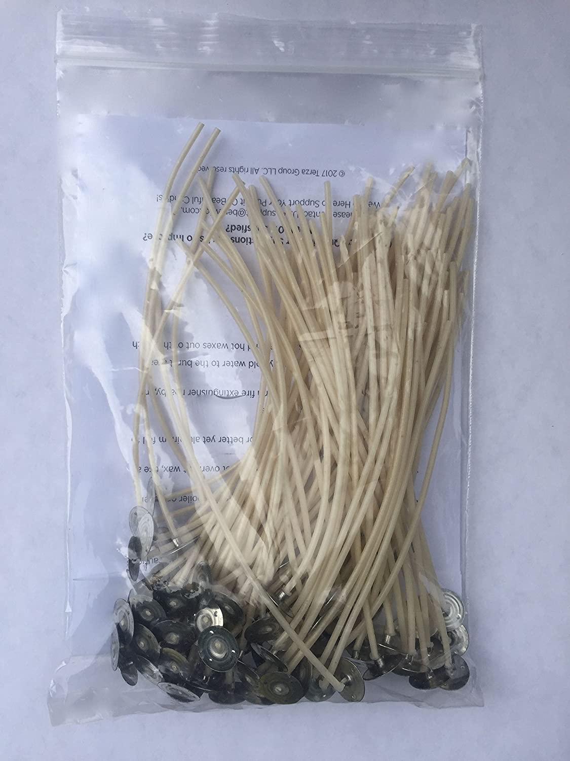 #1 One Reason For Bad Candles, Wrong Wick Diameter. 100 WICKS. MEDIUM WICK DIAMETER. Ideal for Candle Container Opening Of 1 3/4 Inches to less than 2 1/2 inches. 6 Inch Long. Made in USA. Benewick LLC