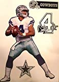 """Dak Prescott Dallas Cowboys Official NFL Removable and Re-Usable Vinyl Wall Graphic 16"""" INCH"""