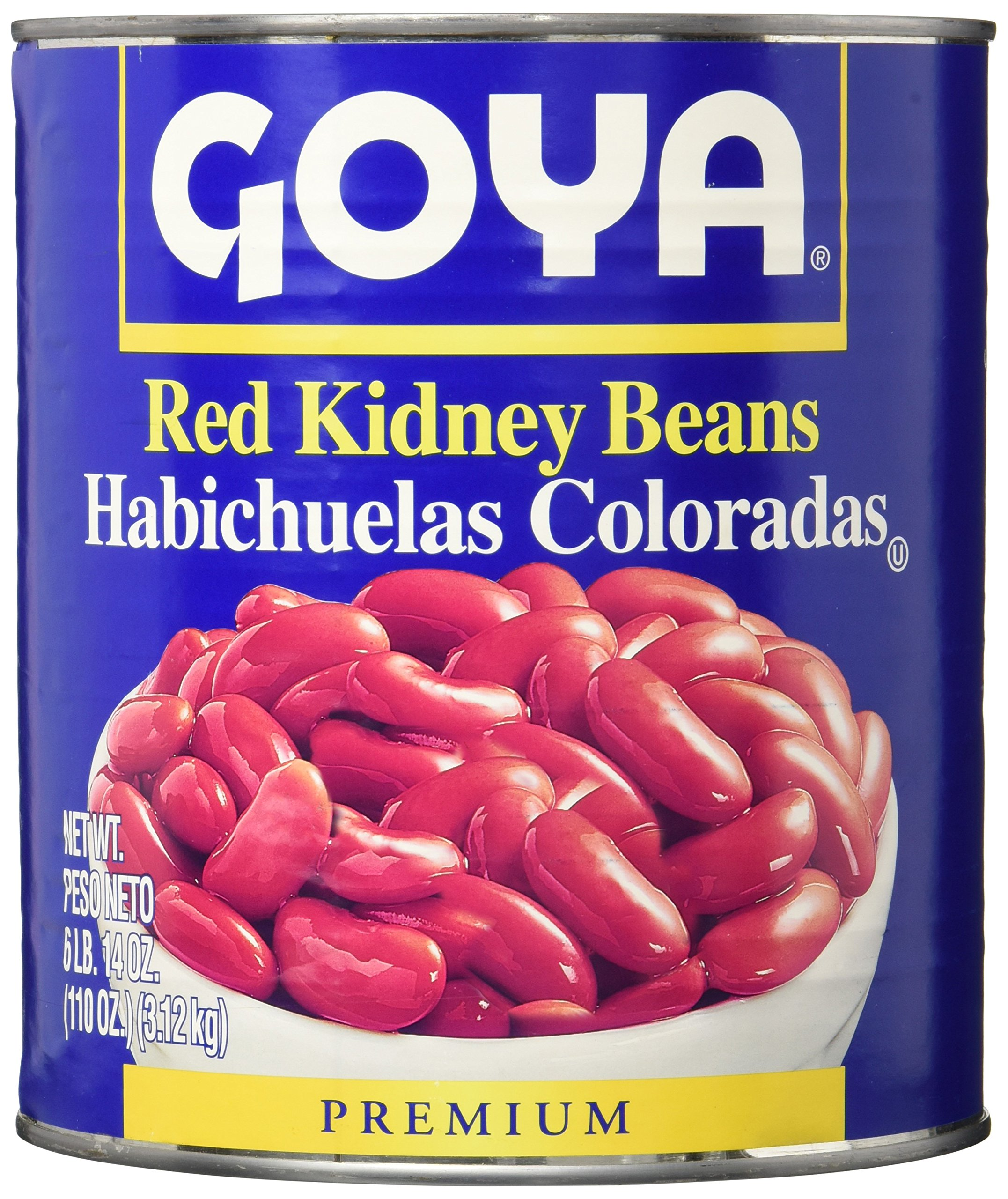 Goya Canned Red Kidney Beans, 110 Ounce