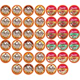 Two Rivers Coffee Ice Cream Flavored Coffee Pods, Variety Sampler Pack for Keurig 2.0 K Cup Brewers, 40 Count