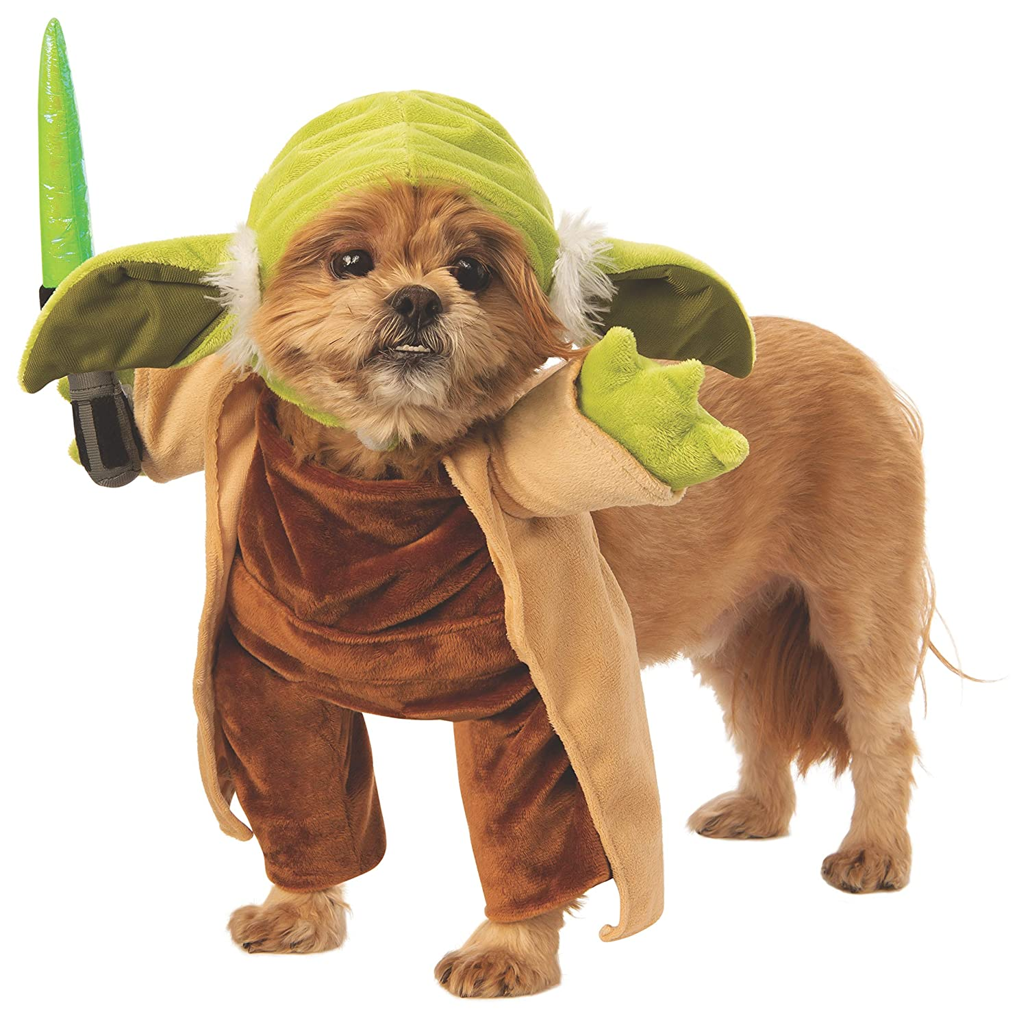 Rubies Costume Pet Walking Yoda Star Wars Costume