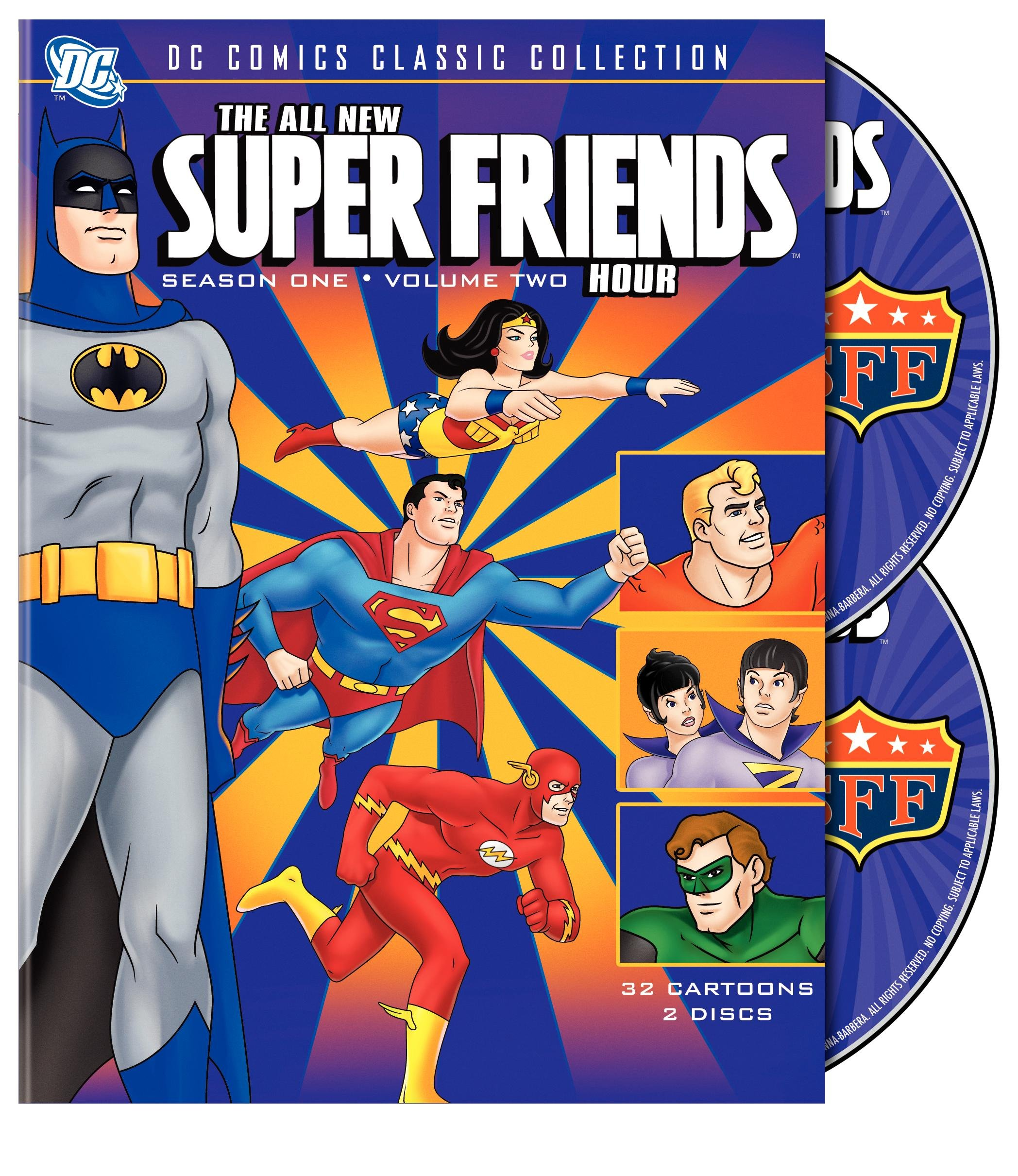 The All-New Super Friends Hour: Season 1, Vol. 2 by Turner Home Ent