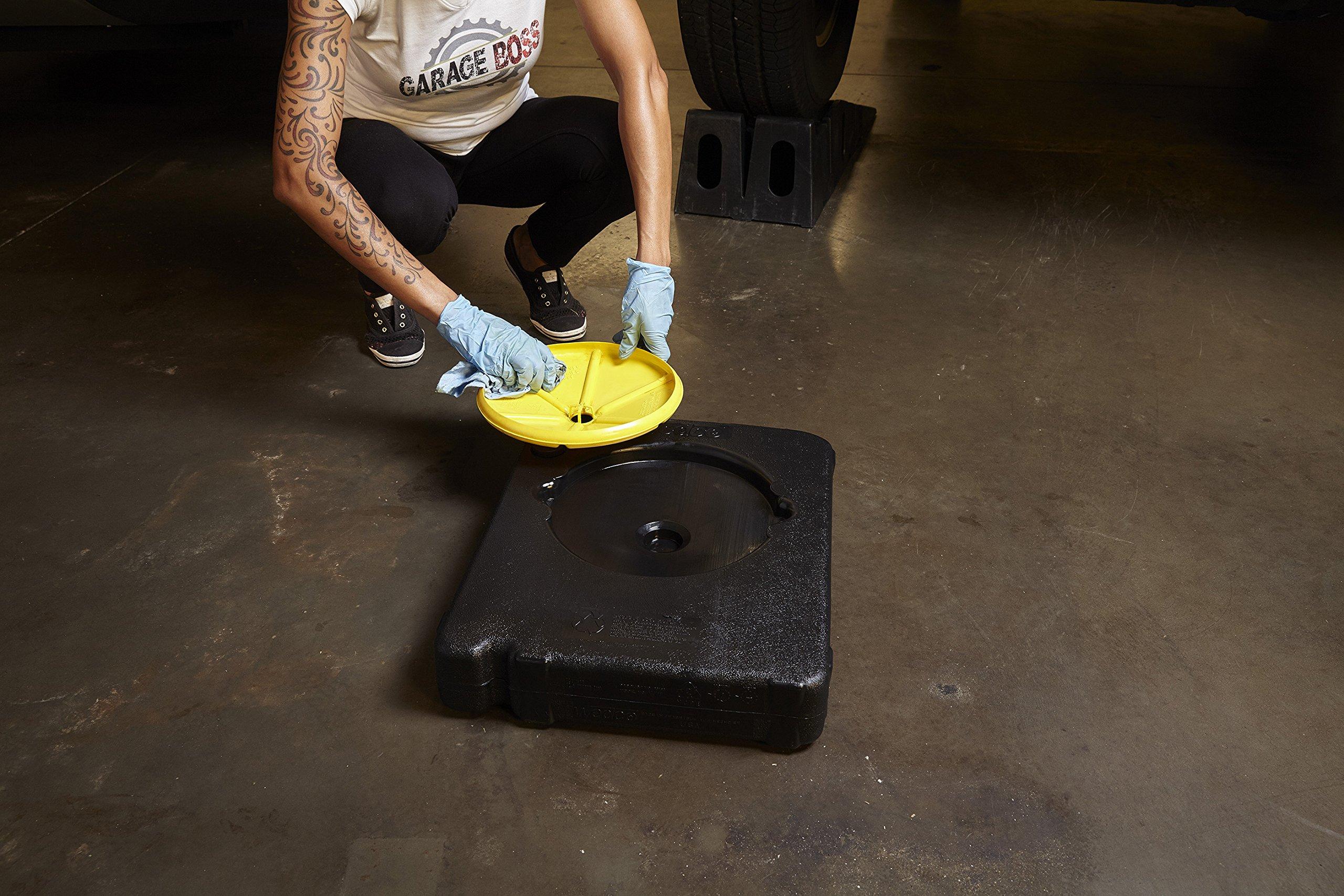 GarageBOSS GB150 12.5 quart Oil Drain Pan with Funnel by GarageBOSS (Image #1)