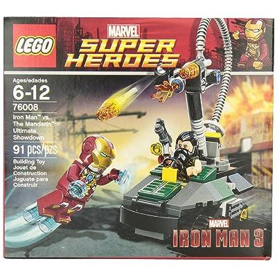 LEGO Super Heroes Iron Man vs. The Mandarin Ultimate Showdown (76008): Toys & Games