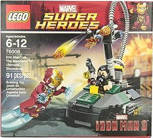 LEGO Super Heroes Iron Man vs. The Mandarin Ultimate Showdown (76008)