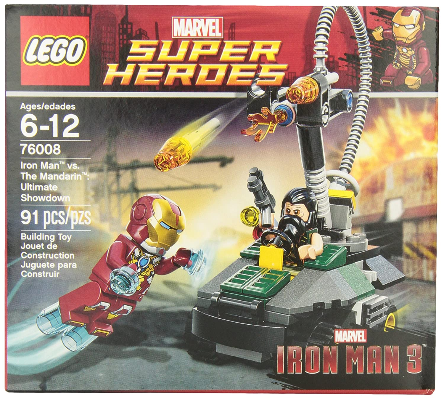LEGO Super Heroes Iron Man vs. The Mandarin Ultimate Showdown
