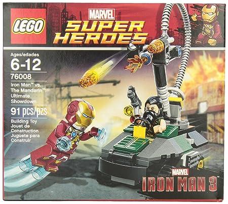 Man Heroes Showdown MandarinAmazon Super L'ultimate Lego Iron Vs XkZiuwOTP