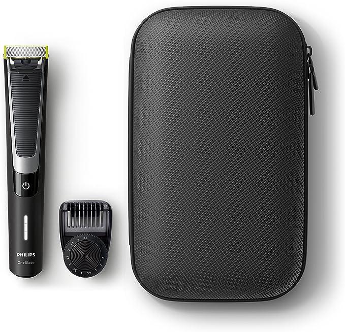 Philips OneBlade Pro QP6510/64 - Pack de recortador de barba con ...