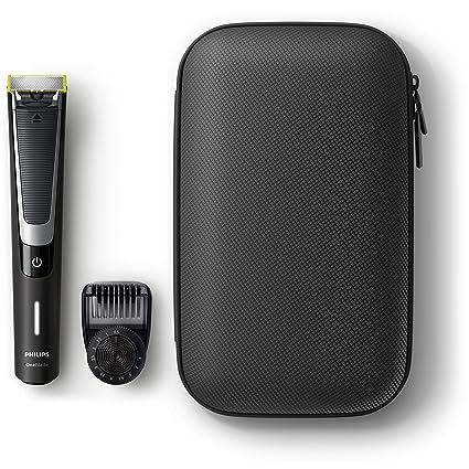 Philips OneBlade Pro QP6510 64 - Pack de Recortador de Barba con Peine de  Precisión 53af9a5fd7a7