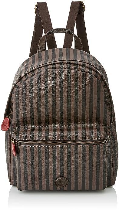 Timberland - Tb0m5574, Mochilas Mujer, Marrone (Brown Black), 16x33x28 cm (W x H L): Amazon.es: Zapatos y complementos