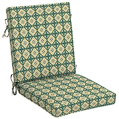 Arden Companies Arden + Artisans Khalid Moroccan Tile High Back Chair : Garden & Outdoor