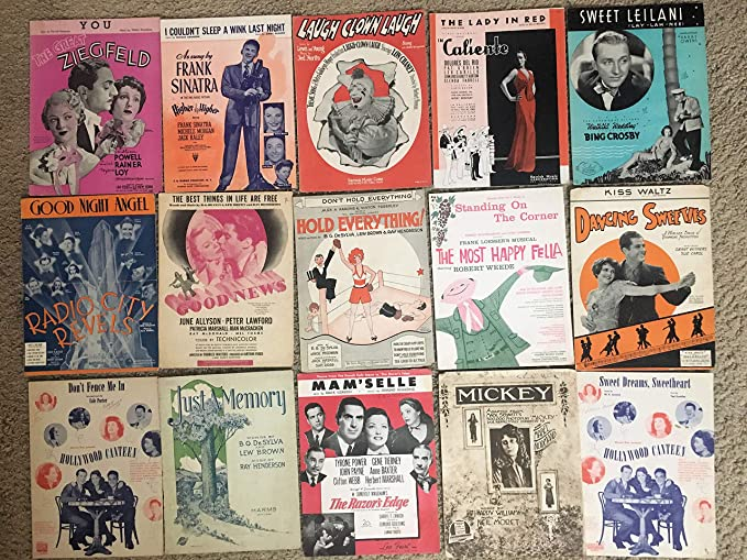 SHEET MUSIC SPECIAL COLLECTION LOT (SHSP07): This Sheet