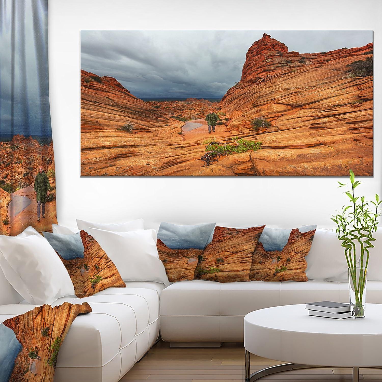Posters Prints Home Kitchen Designart Pt12246 60 28 Vermillion Cliffs Wilderness Oversized Landscape Canvas Art 28 X 60 X 2