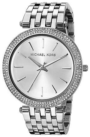 Damenuhren michael kors silber  Michael Kors Damen-Uhren MK3190: Michael Kors: Amazon.de: Uhren