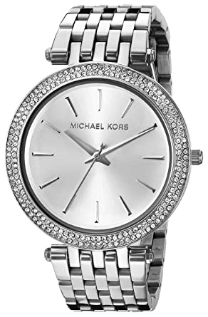 a525794d51b Amazon.com  Michael Kors Women s Darci Silver-Tone Watch MK3190 ...