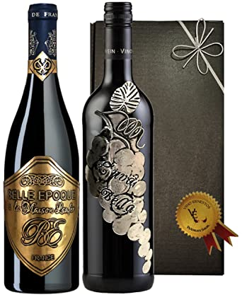 Italien Vs Frankreich Rotwein Geschenkset Der Superlative Prestige