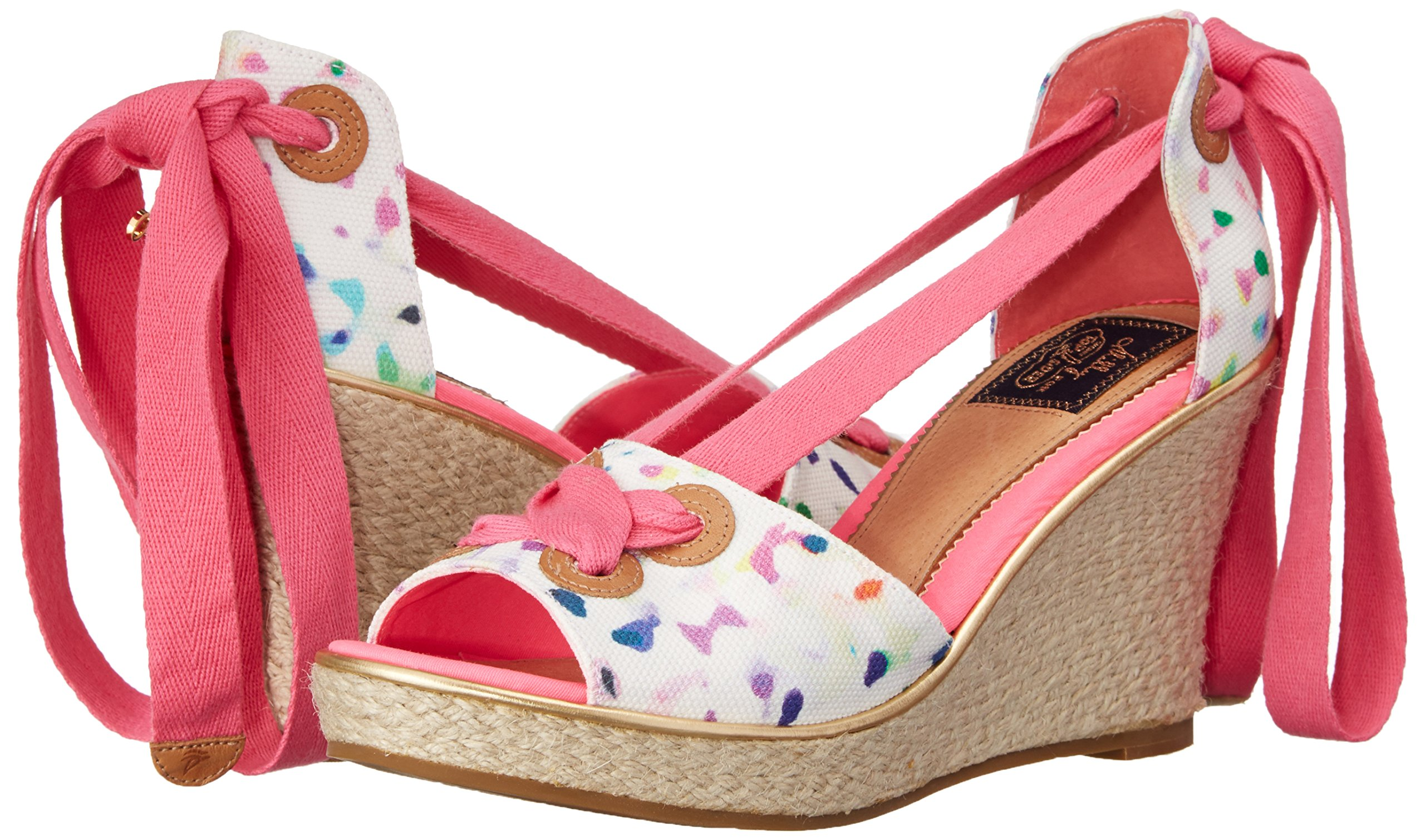 Sperry Top-Sider Women's Palm Beach Milly Confetti Print Wedge 8.5 M (B)