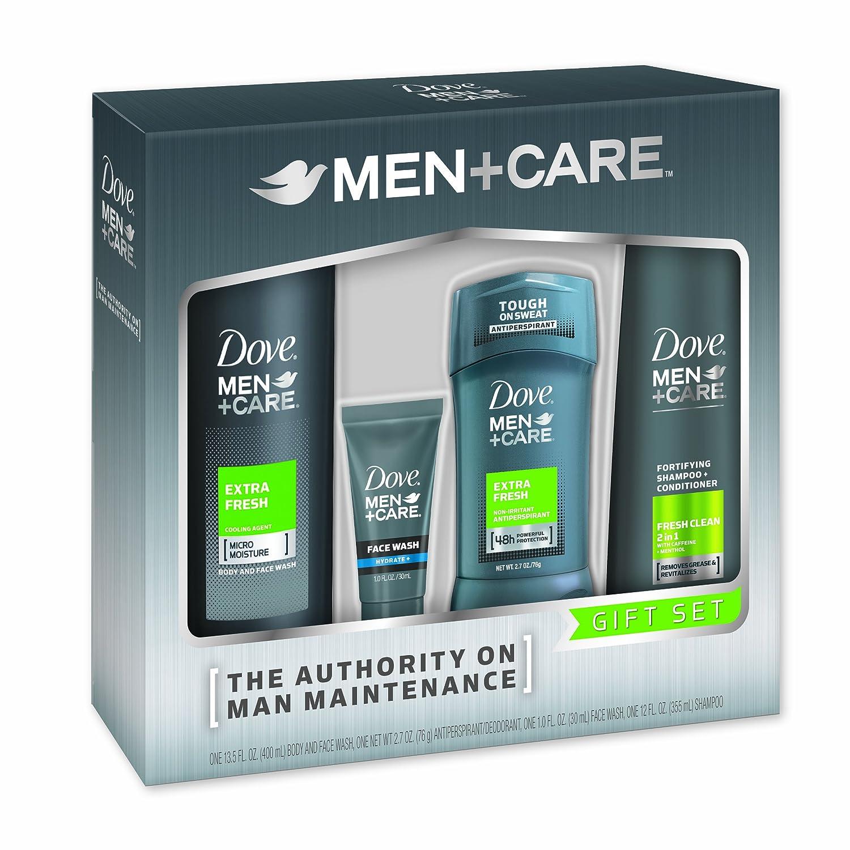 Dove Men Care 4 Piece Extra Fresh Gift Box