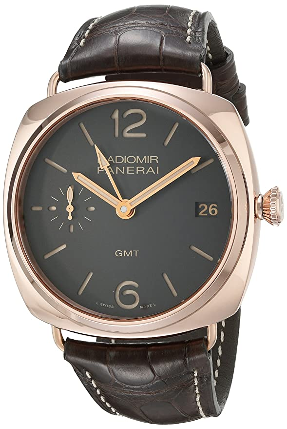 bb1f858270b9 Panerai hombre pam00421 Radiomir pantalla analógica automático suizo marrón  reloj  Panerai  Amazon.es  Relojes