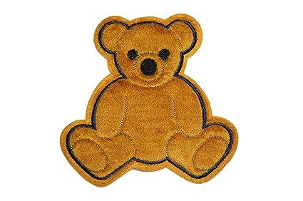 Vintage iron on applique teddy bear wamsutta oop etsy