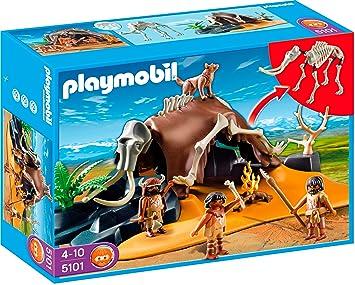 arriving picked up high quality Playmobil 5101 - Tenda con scheletro di mammut e cacciatori