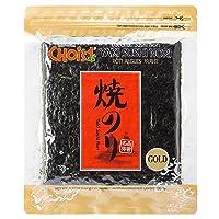 Daechun(Choi's1), Roasted Seaweed, Gim, Sushi Nori (50 Full Sheets), Resealable, Gold Grade, Product of Korea
