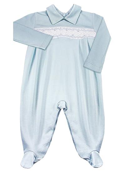 b14862f70 Amazon.com  Dakomoda Baby Boys  100% Organic Pima Cotton Overall ...