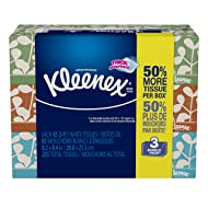 Kleenex Everyday Facial Tissues, Low Count Flat, 85 ct, 3 Pack