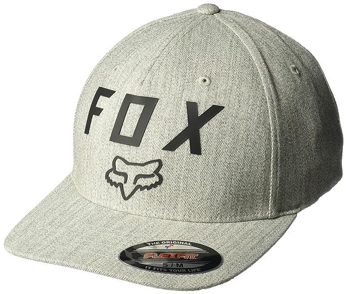 Fox Gorras Number 2 Light Heather Grey/Black Flexfit: Amazon.es ...