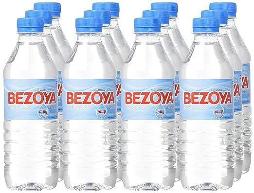 Bezoya Agua Mineral Natural Botella 50cl - [Pack de 12]: Amazon.es: Alimentación y bebidas