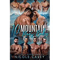 Ten Mountain Men's Baby: A Reverse Harem Romance (Love by Numbers Book 9) (English Edition)