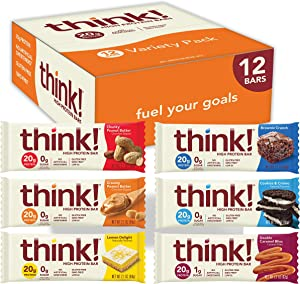 think! (thinkThin) High Protein Bars - Chocolate Fudge