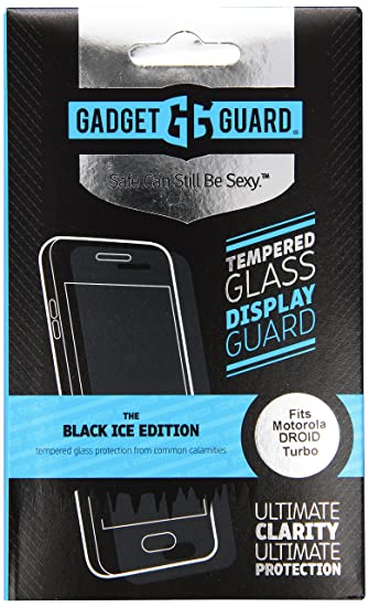 Gadget Guard Screen Protector for Motorola Droid Turbo - Retail Packaging - Clear/Clear