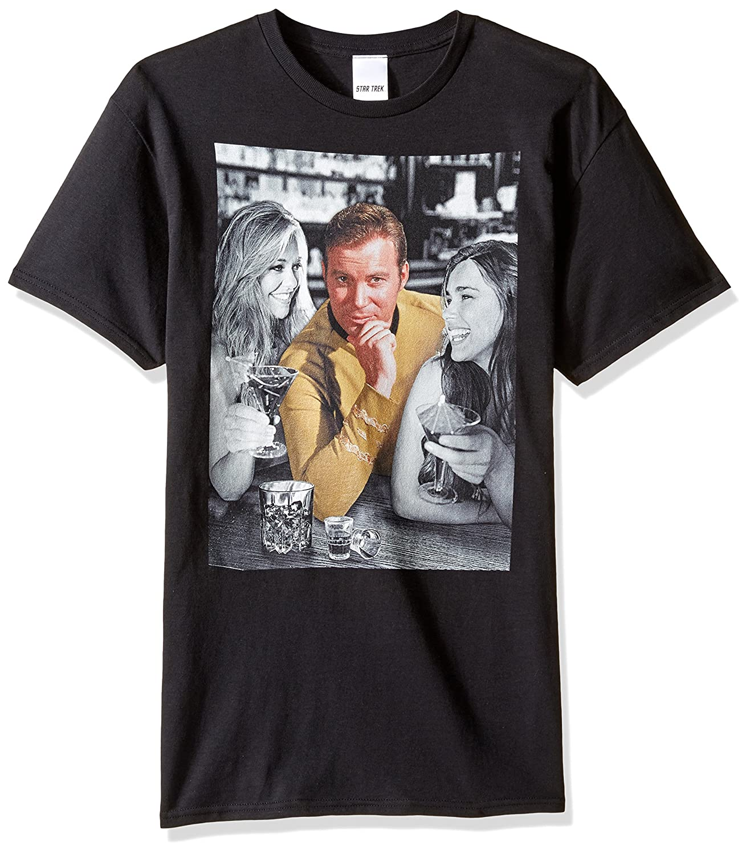Star Trek Mens Captain Kirk Ladies Man T-Shirt T-Shirt