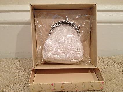 162f885d0114a Amazon.com: Popular Imports: Putting on The Ritz White Lace Handbag ...