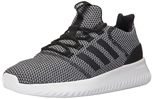 adidas Men s Cloudfoam Ultimate Running Shoe Black White 8c485041237de
