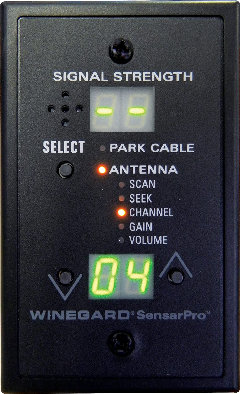 Black Winegard RFL-332 SensarPro TV Signal Strength Meter