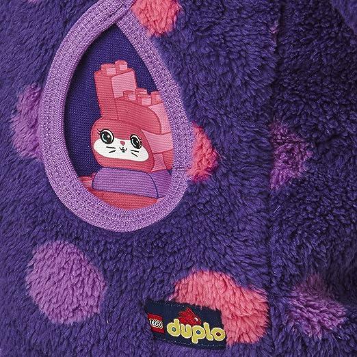 104 LEGO wear M/ädchen Fleece Jacke Smilla 602 lila mit P/ünktchen