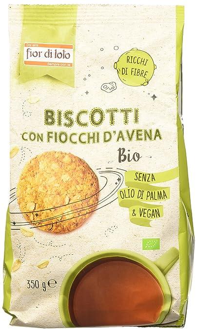 4 opinioni per Fior di Loto Biscotti con Fiocchi di Avena- 350 gr