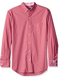 Izod Men's Gingham Long Sleeve Shirt