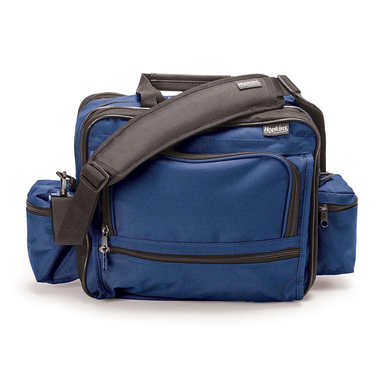 Hopkins Medical Products Mark V Shoulder Bag for Nurses and Home Health Professionals - Royal Blue