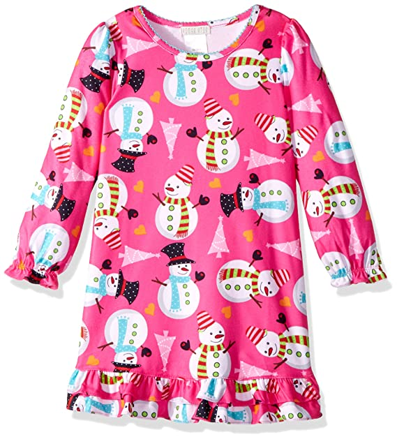Komar Kids Niñas Snowman Nightgown Bata para Dormir: Amazon.es: Ropa y accesorios