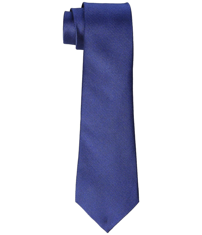 [LAUREN Ralph Lauren(ローレンラルフローレン)] メンズネクタイ Textured Solid Tie Navy OS [並行輸入品] One Size ネイビー B07PWTHJJF