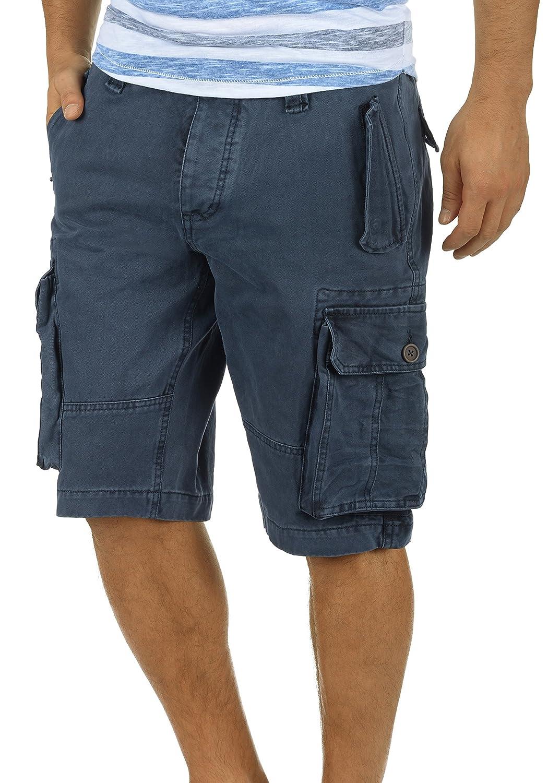 !Solid Pombal Pantaloncini Cargo Bermuda Shorts Pantaloni Corti da UomoIn Cotone 100% Regular- Fit