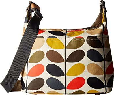 1f1dbcf2e7c Orla Kiely Womens Classic Multi Stem Sling Baby Bag Canvas and Beach Tote  Bag Multicolour (Multi)  Amazon.co.uk  Shoes   Bags