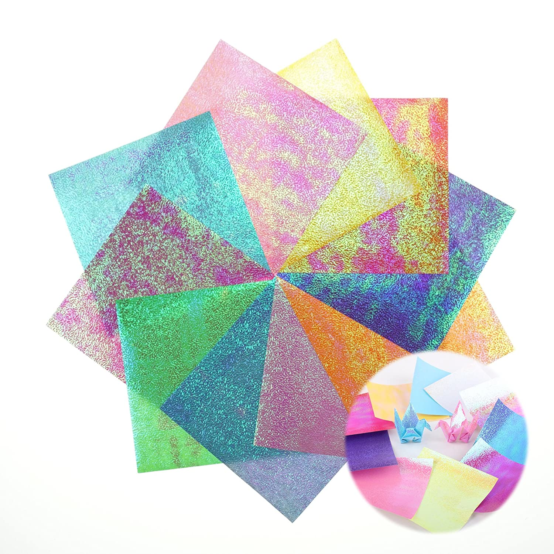Amazon Bilipala Easy Origami Iridescent Paper For Beginners