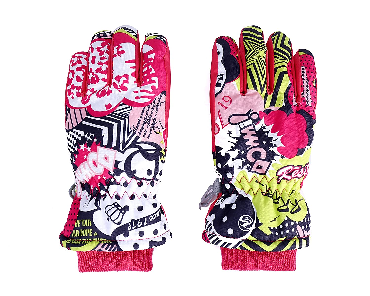 VERTAST Boys Girls Windproof Winter Warm Gloves Weather Proof Snow Ski Cycle Gloves