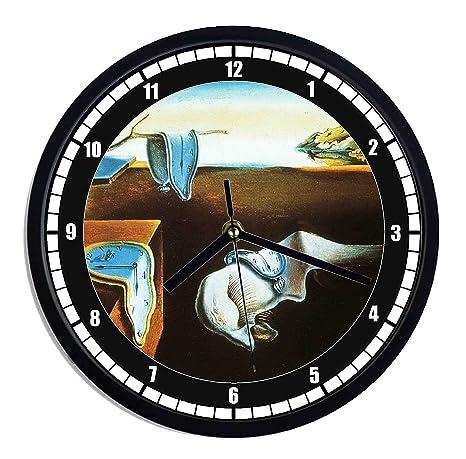 Reloj de pared de plástico Salvador Dali – la persistenza della memoria